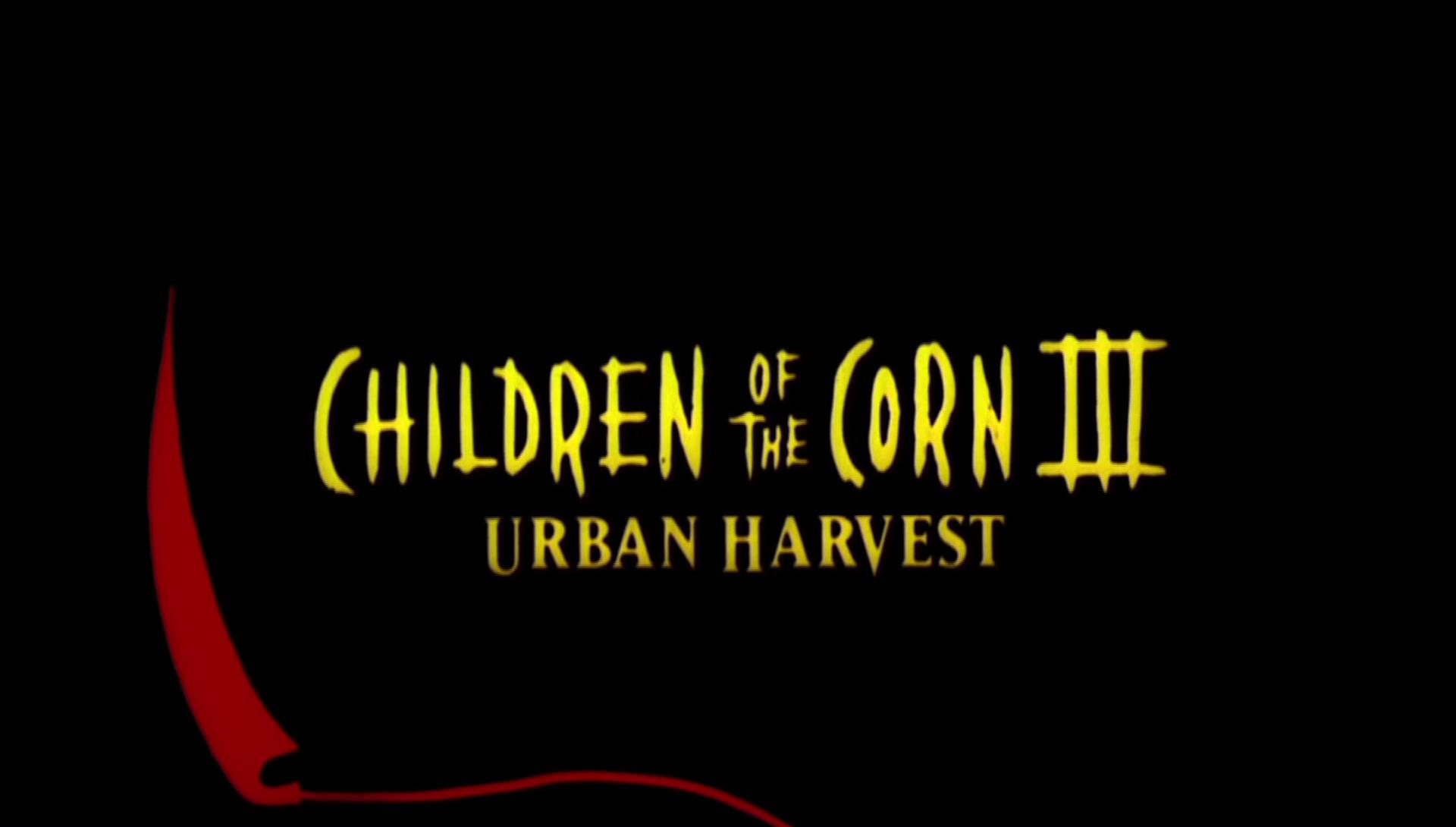 LES ENFANTS DU MAÏS 3 : LES MOISSONS DE LA TERREUR (Children of the Corn 3: Urban Harvest) de James D.R. Hickox (1995)