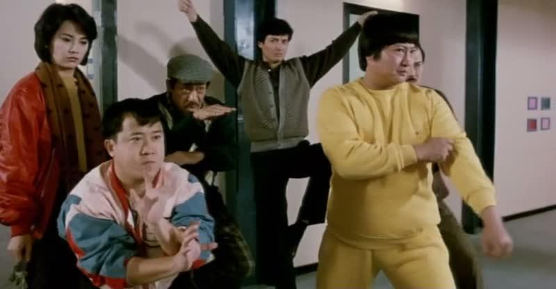LE FLIC DE HONG KONG (福星高照) de Sammo Hung (1985)