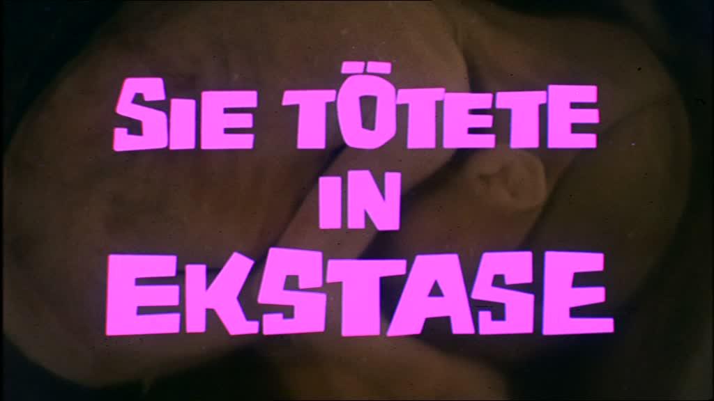CRIMES DANS L'EXTASE (Sie Totete in Ekstase) de Jess Franco (1971)