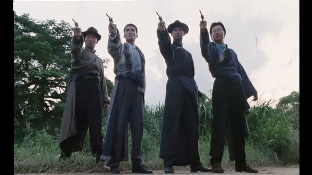 GUNMEN (天羅地網) de Kirk Wong (1988)