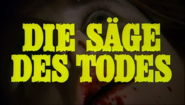 LA LUNE DE SANG (Die Säge Des Todes) de Jess Franco (1981)