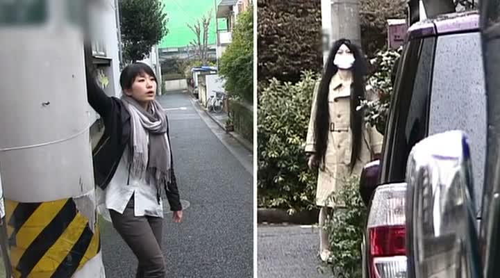 SENRITSU KAIKI FILE KOWASUGI! FILE 01 KUCHISAKE ONNA HOKAKU SAKUSEN (戦慄怪奇ファイル コワすぎ! FILE 01 口裂け女捕獲作戦) de Shiraishi Kôji (2012)