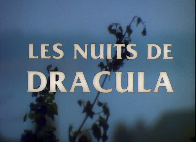LES NUITS DE DRACULA (El Conde Dracula) de Jess Franco (1970)