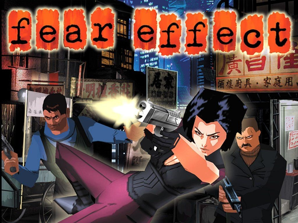 Fear Effect (2000 – Science Fiction – Playstation 1)