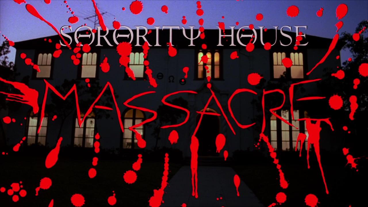 SORORITY HOUSE MASSACRE de Carol Frank (1986