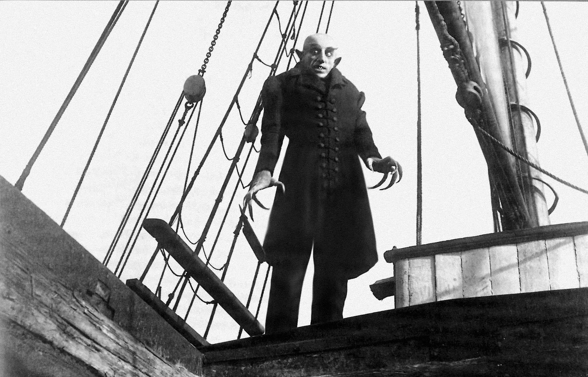 NOSFERATU (Nosferatu, Eine Symphonie Des Grauens) de Friedrich Wilheim Murnau (1922)