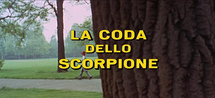 LA QUEUE DU SCORPION (La Coda Dello Scorpione) de Sergio Martino (1971)