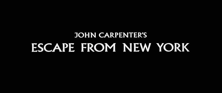 NEW YORK 1997 (Escape from New York) de John Carpenter (1981)
