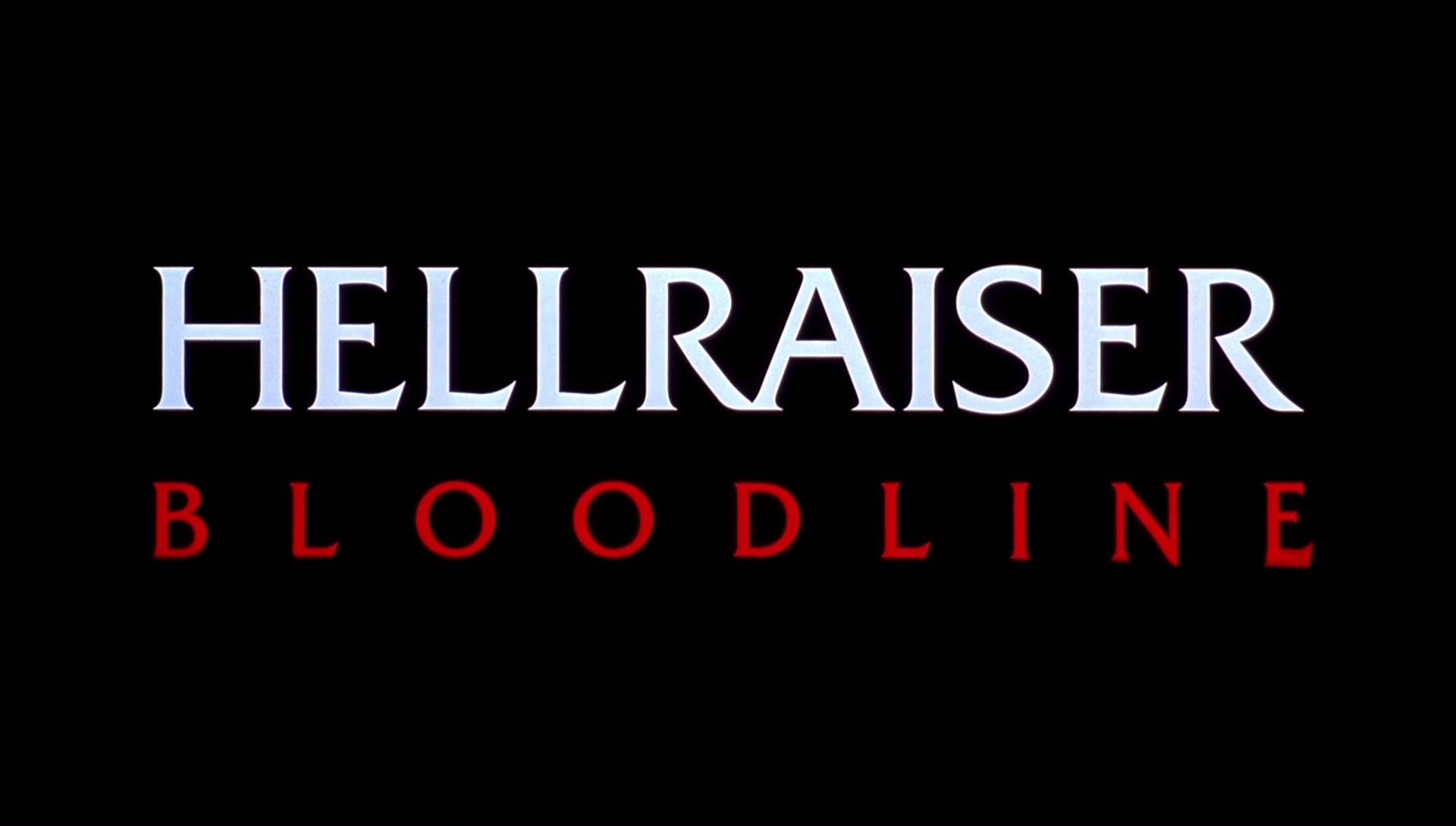 HELLRAISER BLOODLINE de Alan Smithee (1996)