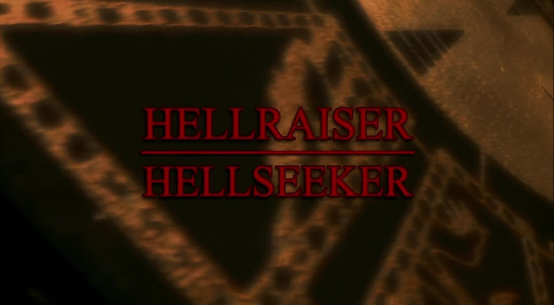 HELLRAISER: HELLSEEKER de Rick Bota (2002)