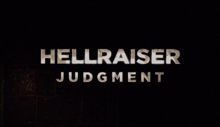 HELLRAISER JUDGMENT de Gary J. Tunnicliffe (2018)