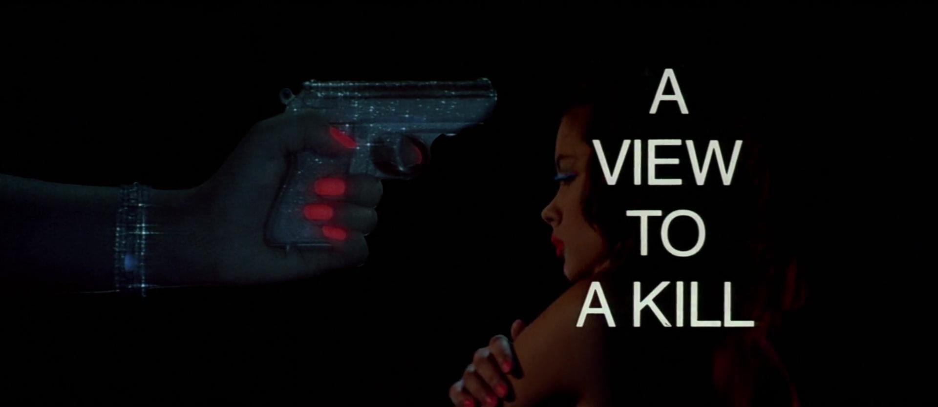 DANGEREUSEMENT VOTRE (A View to a Kill) de John Glen (1985)