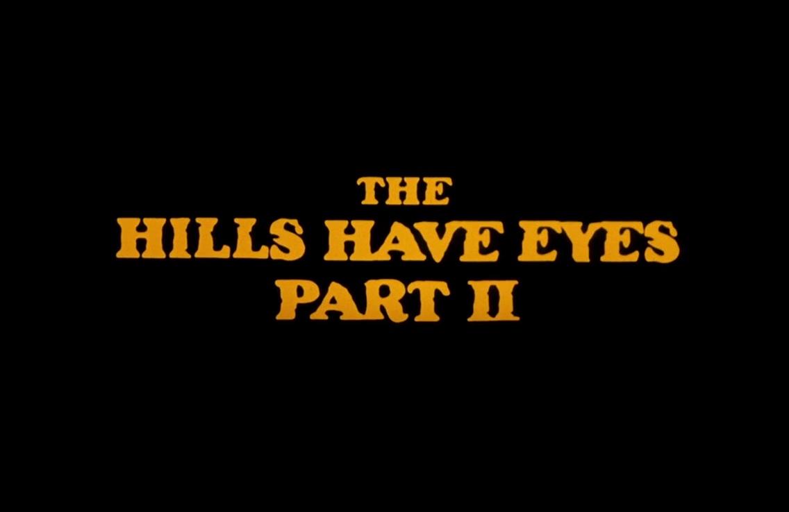 LA COLLINE A DES YEUX 2 (The Hills Have Eyes Part II) de Wes Craven (1984)