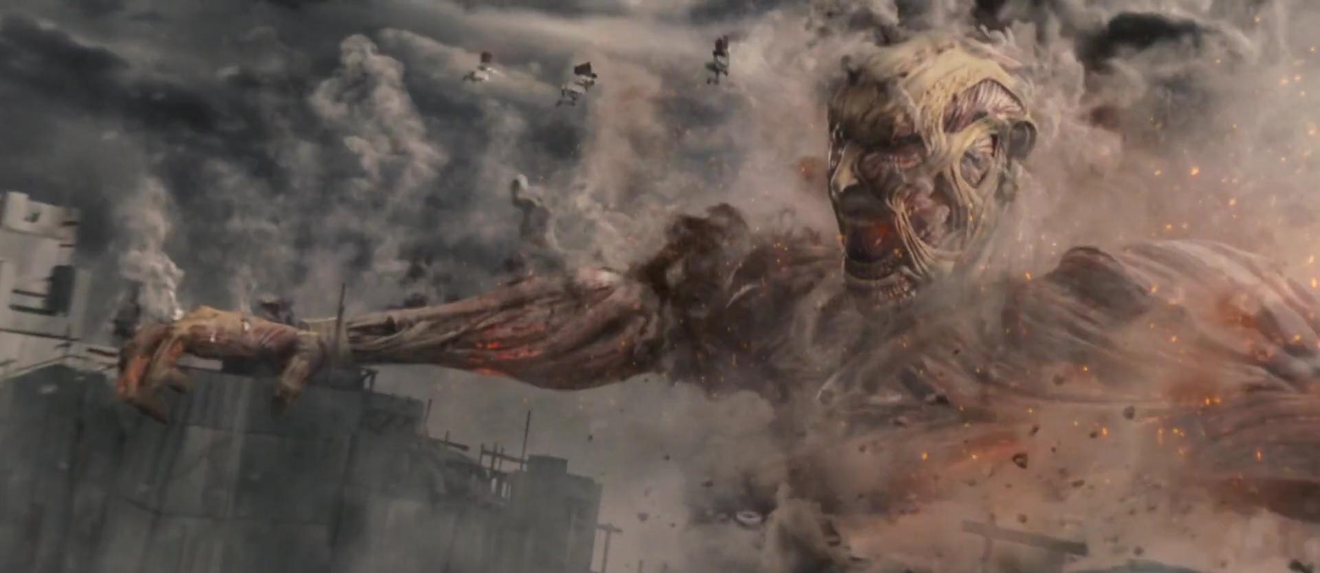 ATTACK ON TITAN: END OF THE WORLD (進撃の巨人 ATTACK ON TITAN エンド オブ ザ ワールド) de Higushi Shinji (2015)