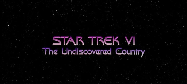STAR TREK VI : TERRE INCONNUE (Star Trek VI: the Undiscovered Country) de Nicholas Meyer (1991)