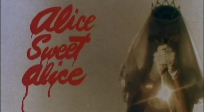 ALICE DOUCE ALICE (Alice, Sweet Alice) de Alfred Sole (1976)