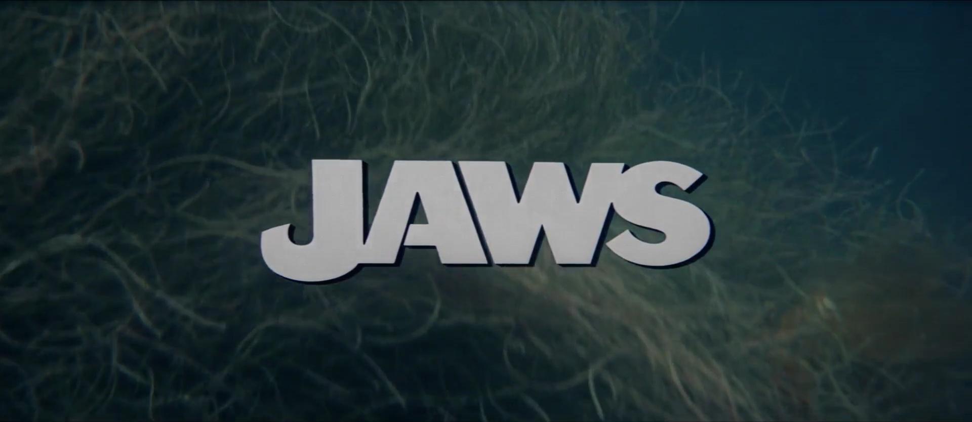 LES DENTS DE LA MER (Jaws) de Steven Spielberg (1975)