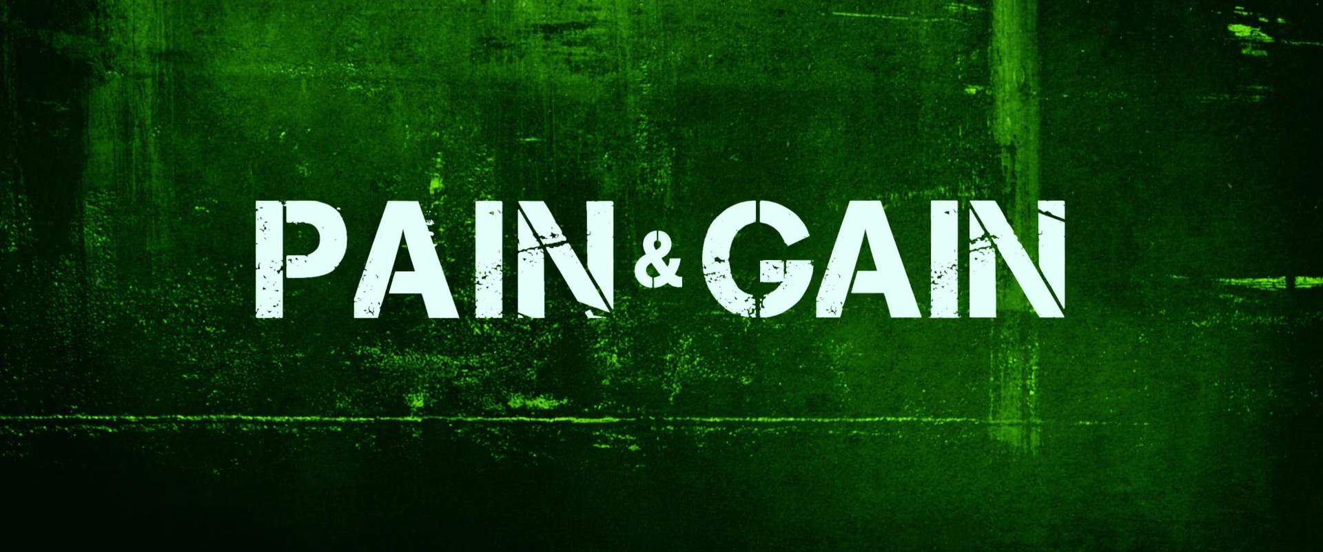 NO PAIN NO GAIN (Pain & Gain) de Michael Bay (2013)