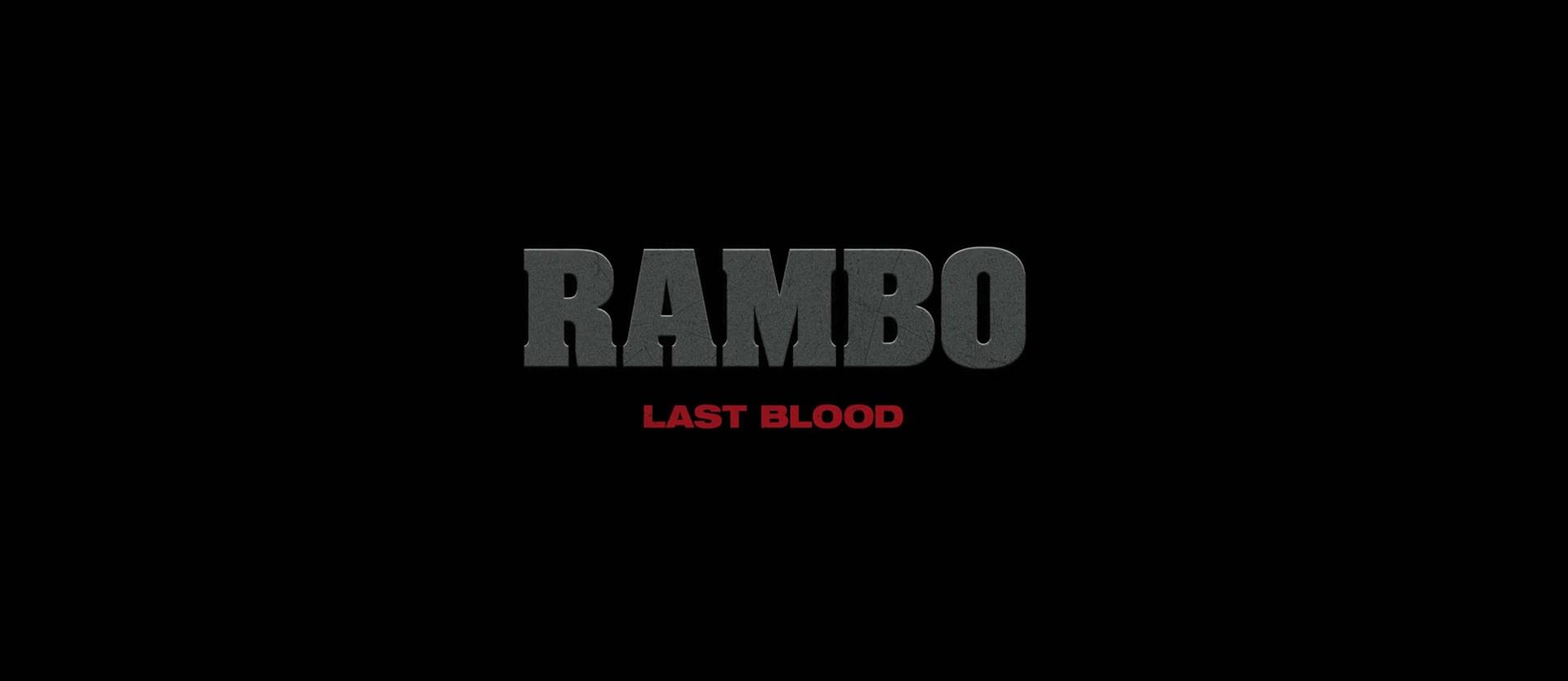 RAMBO LAST BLOOD de Adrian Gunberg (2019)