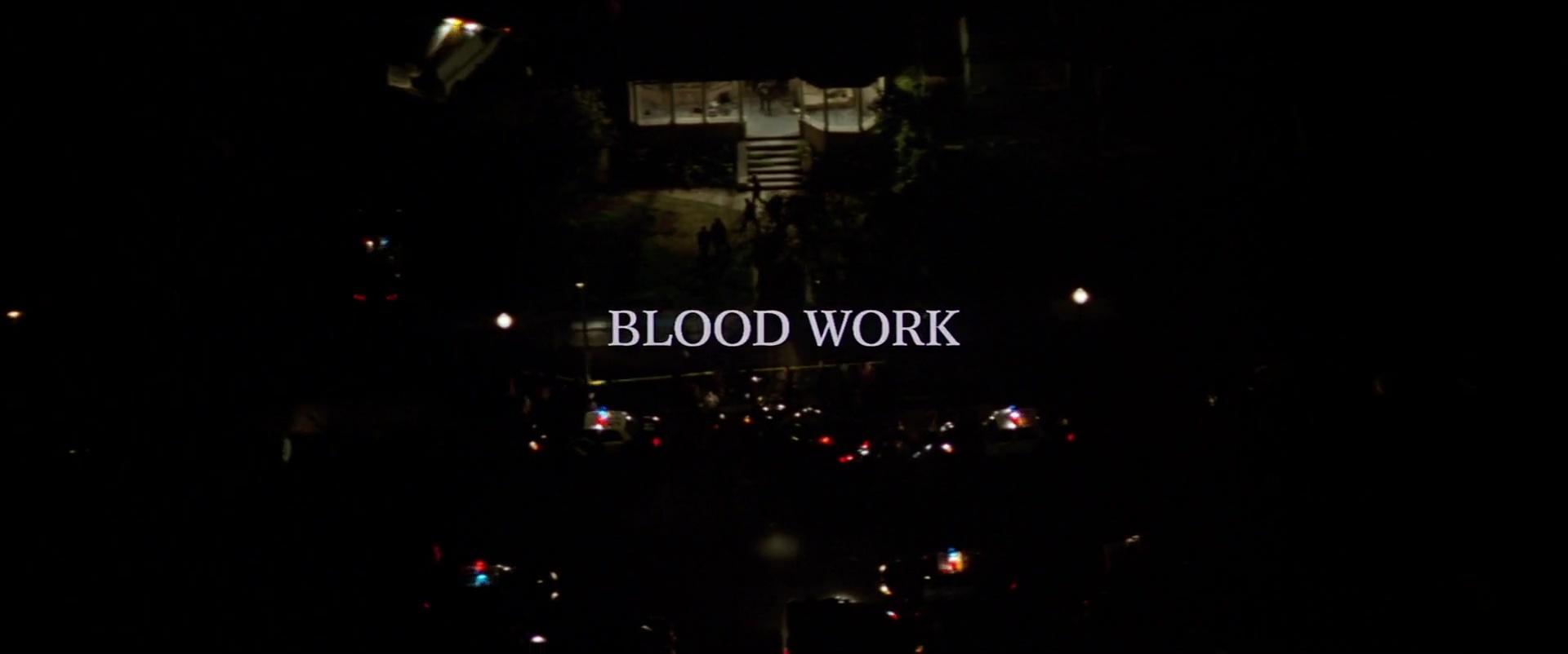 CRÉANCE DE SANG (Blood Work) de Clint Eastwood (2002)