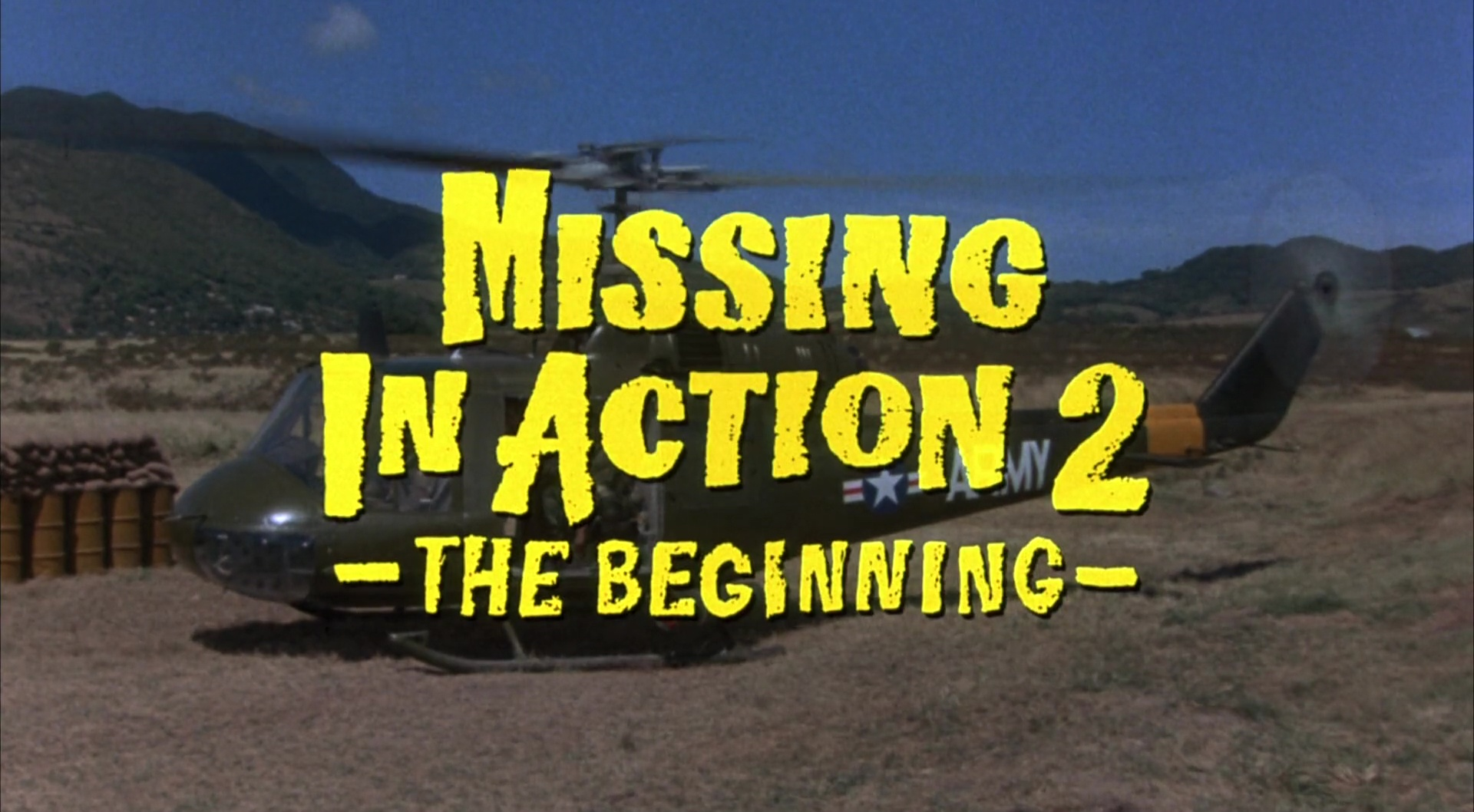 PORTÉS DISPARUS 2 (Missing in Action 2: The Beginning) de Lance Hool (1985)