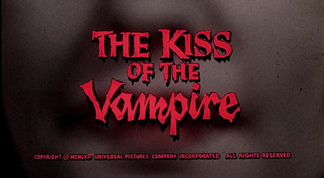 LE BAISER DU VAMPIRE (The Kiss of the Vampire) de Don Sharp (1963)