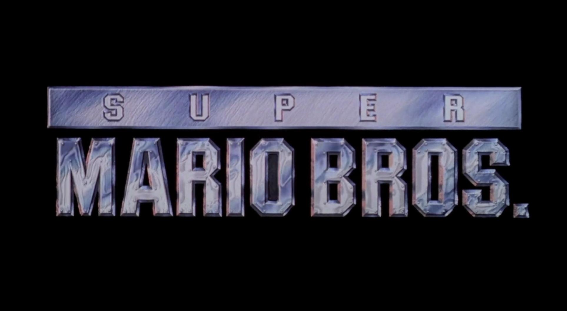 SUPER MARIO BROS de Annabel Jankel et Rocky Morton (1993)