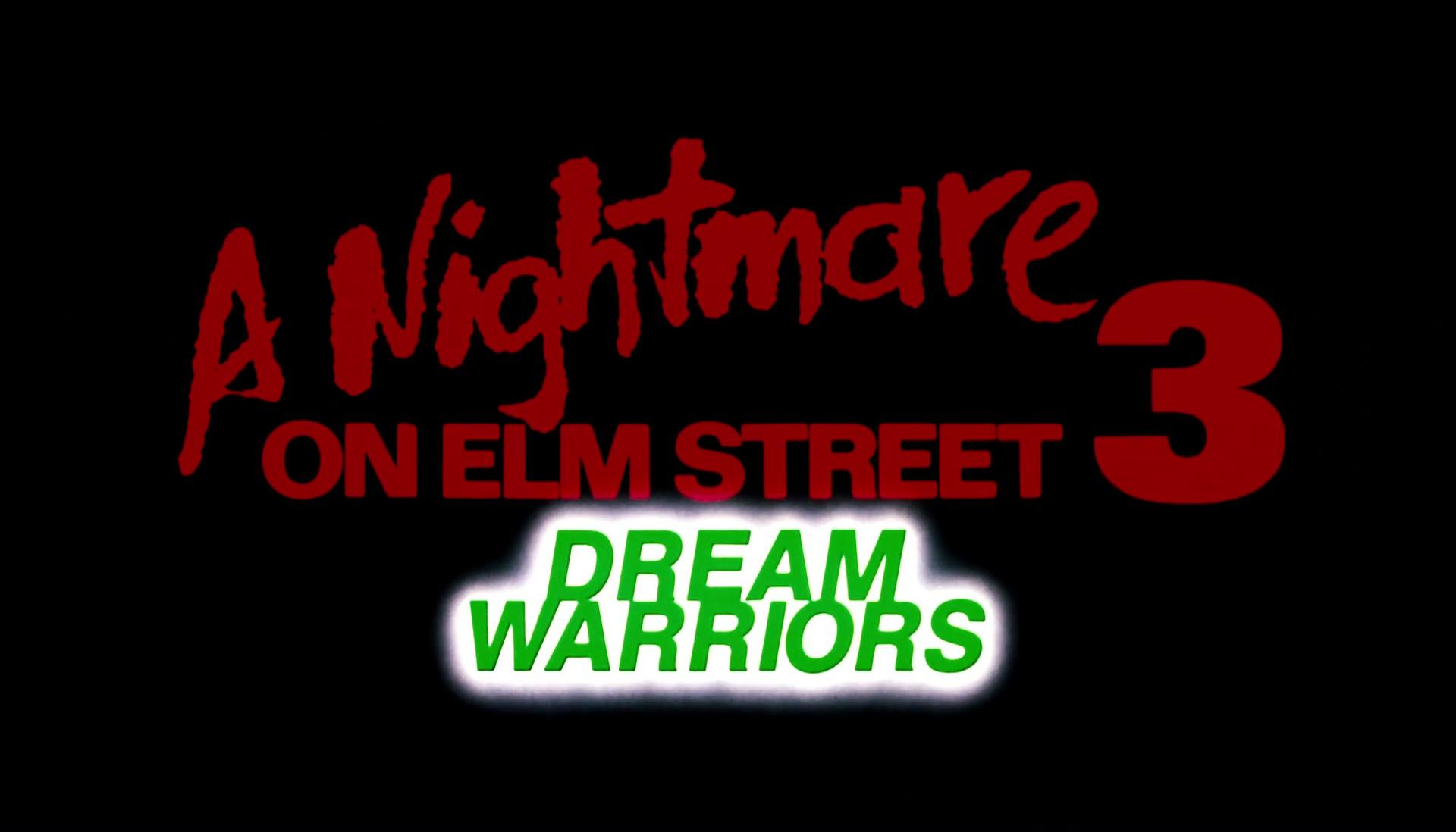 FREDDY 3 : LES GRIFFES DU CAUCHEMAR (A Nightmare on Elm Street 3: Dream Warriors) de Chuck Russell (1987)