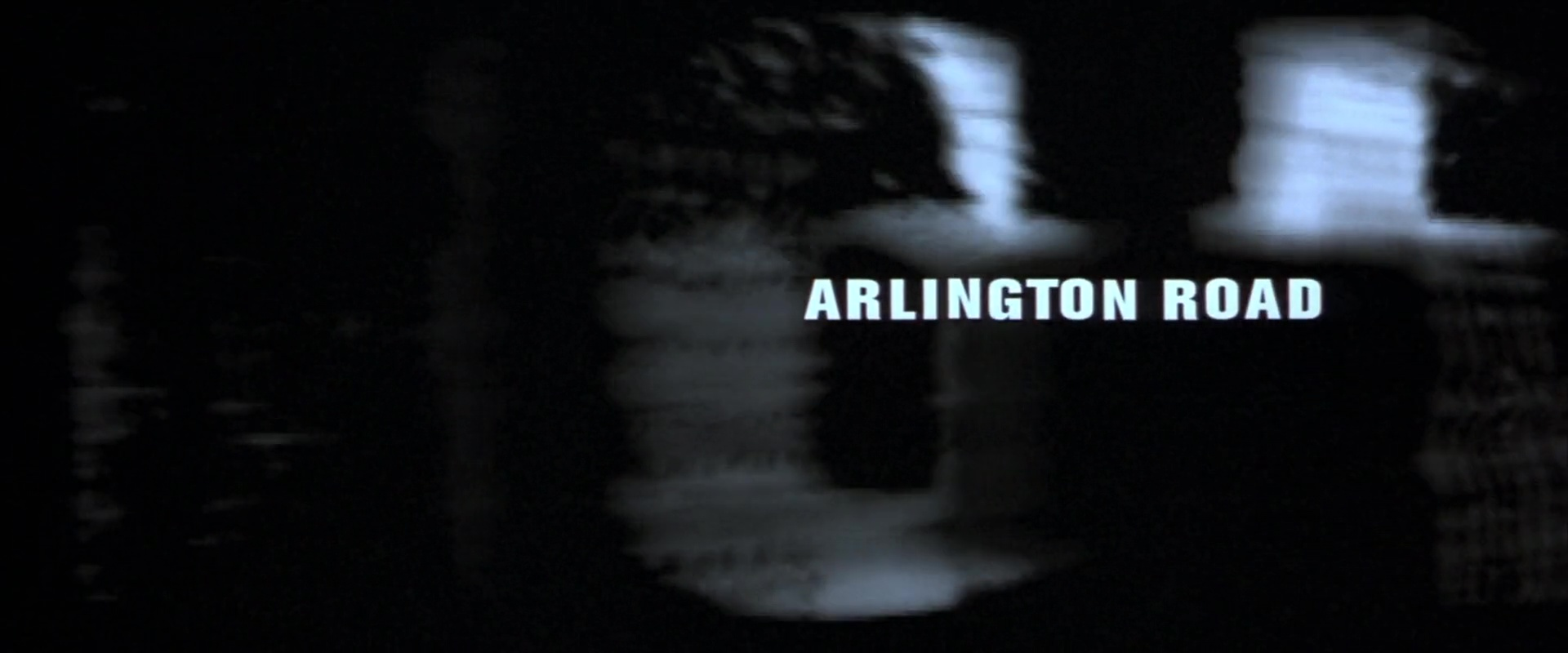 ARLINGTON ROAD de Mark Pellington (1999)