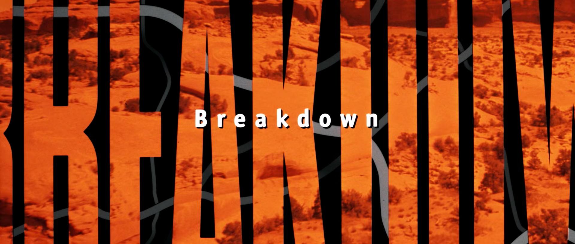 BREAKDOWN de Jonathan Mostow (1997)