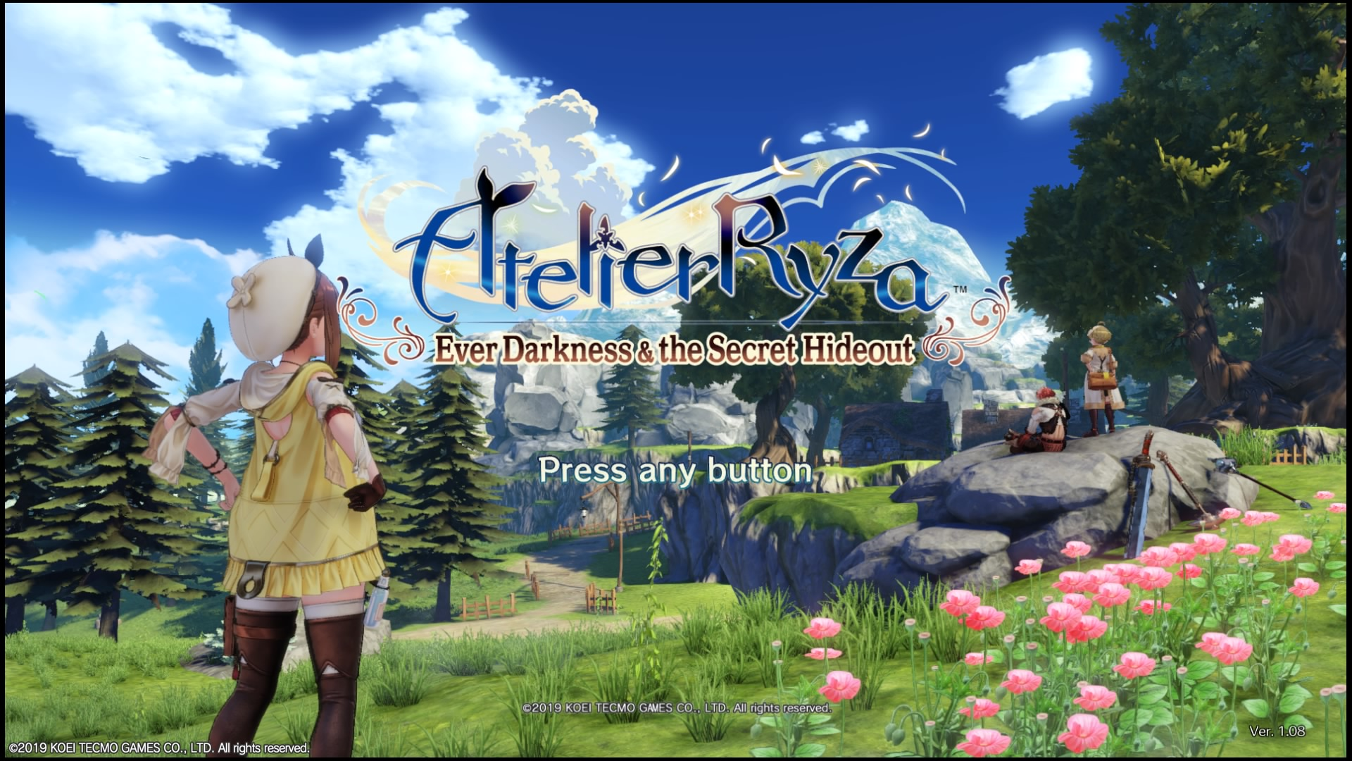 Atelier Ryza: Ever Darkness and the Secret Hideout (2019 – JRPG – Playstation 4)
