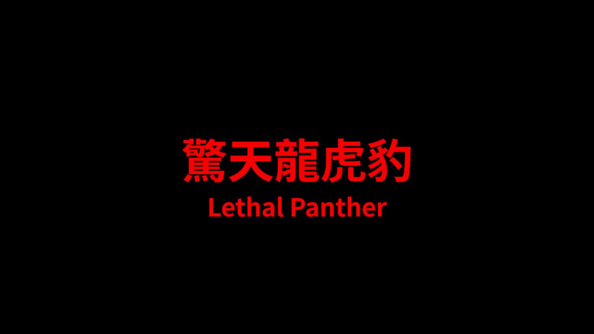 LETHAL PANTHER (驚天龍虎豹) de Godfrey Ho (1990)