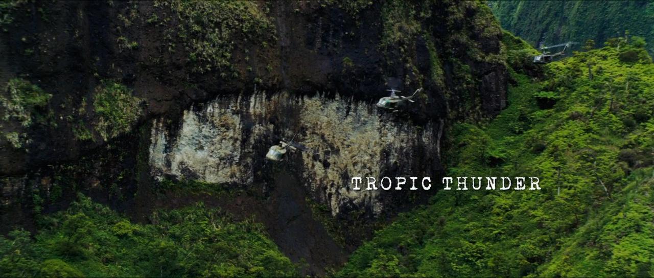 TONNERRE SOUS LES TROPIQUES (Tropic Thunder) de Ben Stiller (2008)