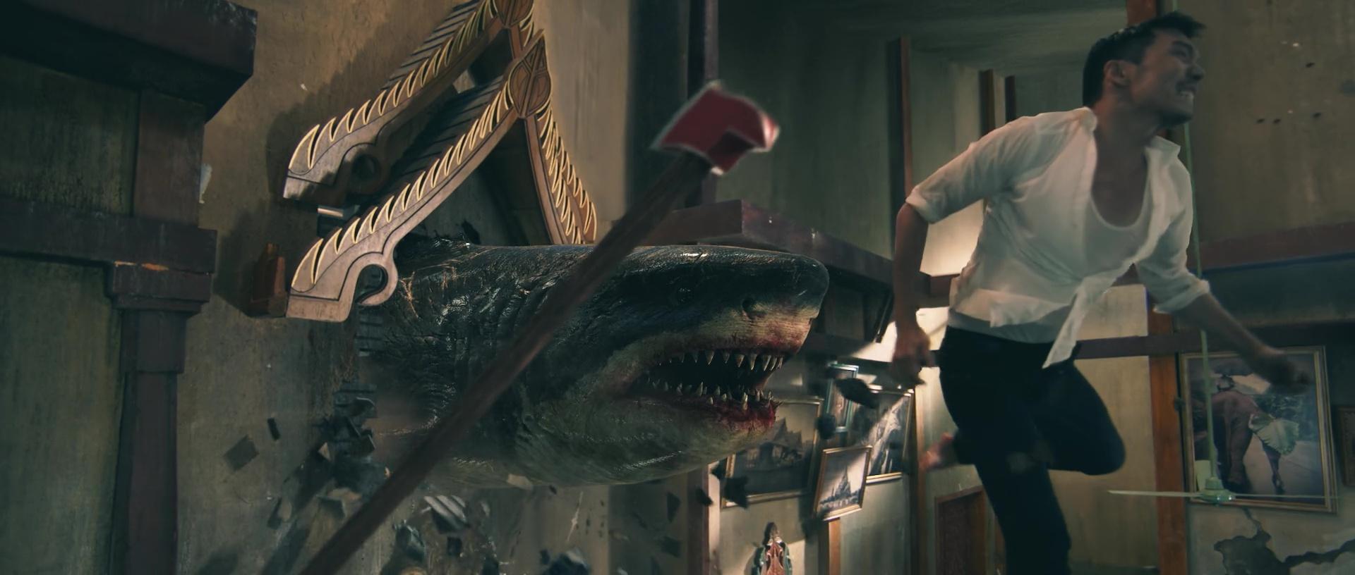 ESCAPE FROM THE SHARK'S MOUTH (鲨口逃生) de Zhu Jiang (2021)