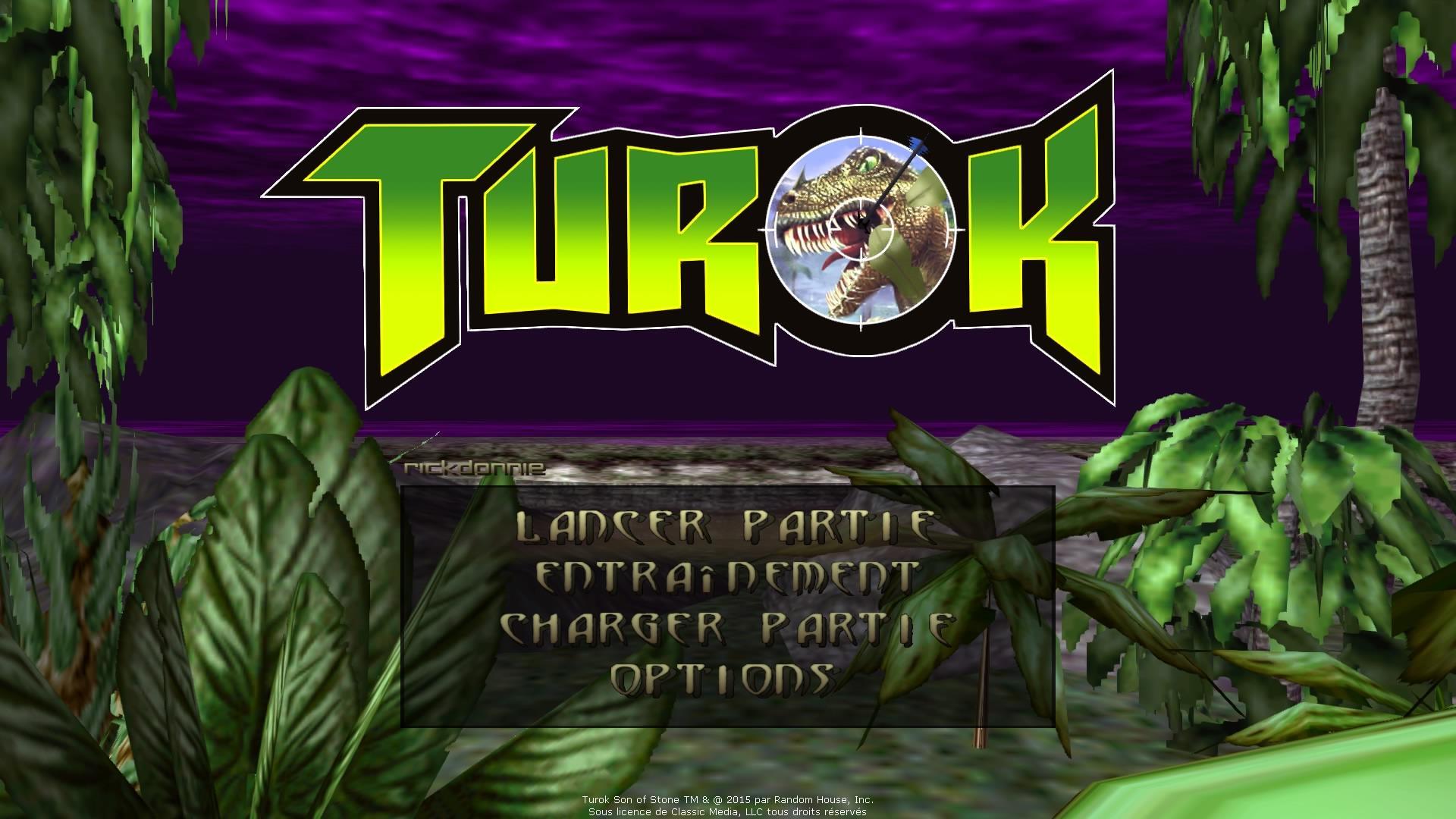 Turok : Dinosaur Hunter (1997 – FPS – Nintendo 64)