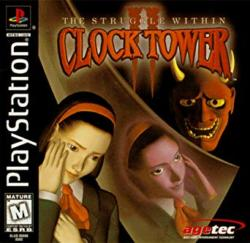 Clock Tower Ghost Head